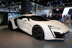 FIRST ARAB SUPER CAR WITH LED HEADLIGHTS